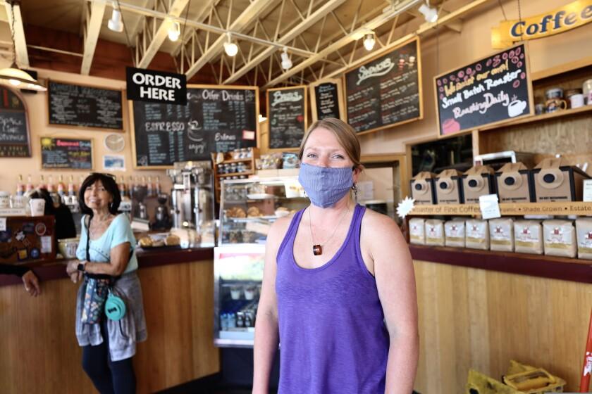 Megan Arnett, manager at Java Junction's Seabright location