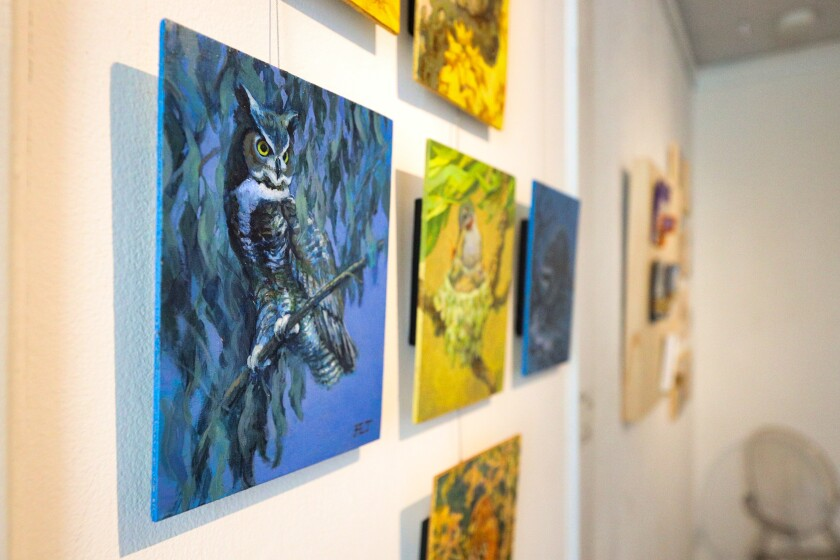 Small, take-home art is the way at the upcoming gallery.