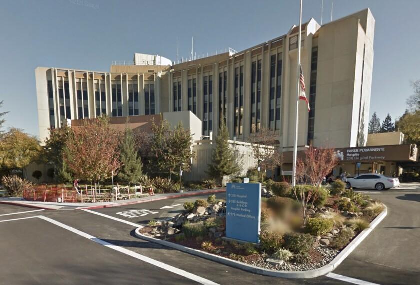 Exterior of Kaiser Permanente San Jose Medical Center.