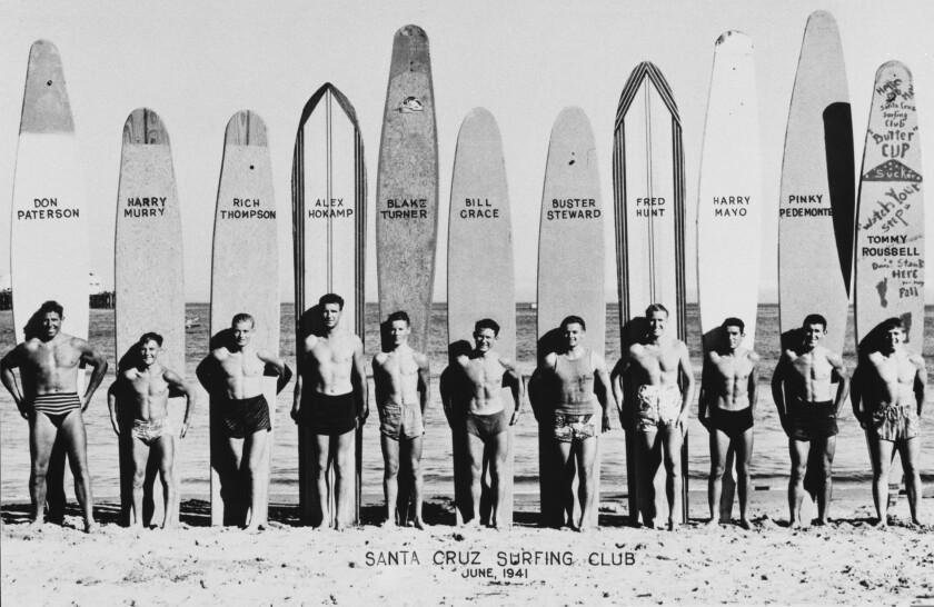 The original Santa Cruz Surfing Club