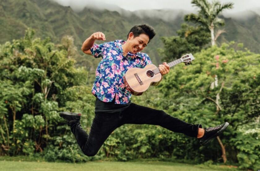 Musician Jake Shimabukuro