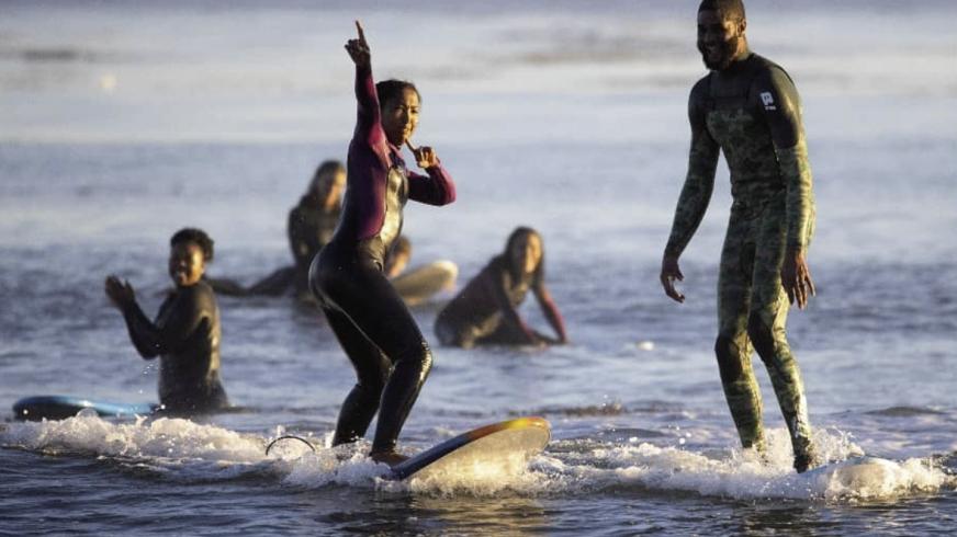 The Black Surf Club Santa Cruz has grown to 90 members in less than a year.