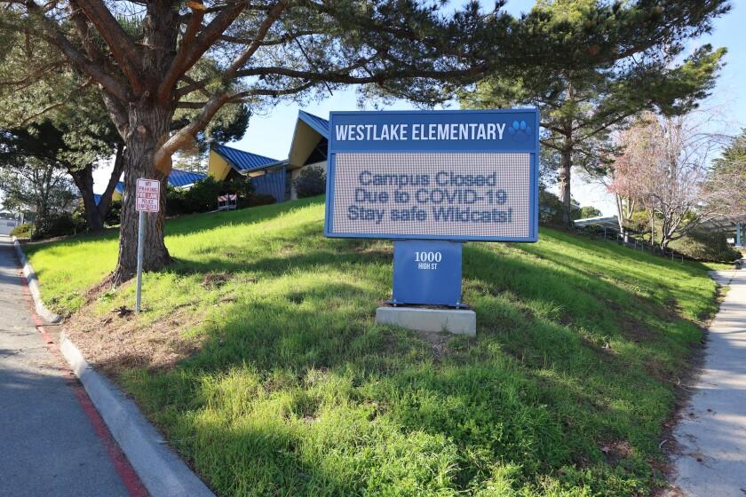 Westlake Elementary on the Westside.