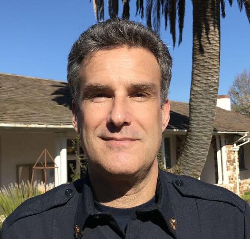 Santa Cruz Fire Chief Jason Hajduk