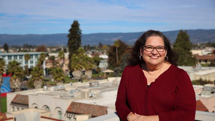 MariaElena De La Garza, executive director of Watsonville-based Community Action Board of Santa Cruz County