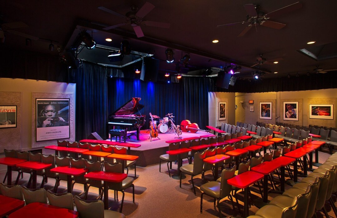 The Kuumbwa Jazz Center.