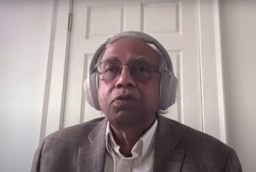 "UCSC technology management professor Ramakrishna ""Ram"" Akella."