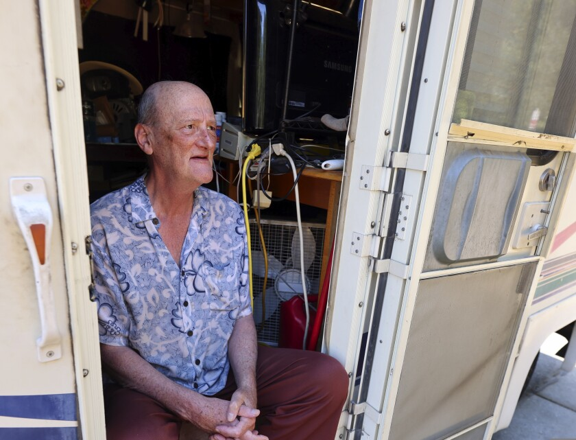 Ron thought his RV life would be a temporary one, but it hasn't worked out like that.