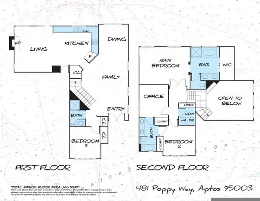 Floor plan of 481 Poppy Way
