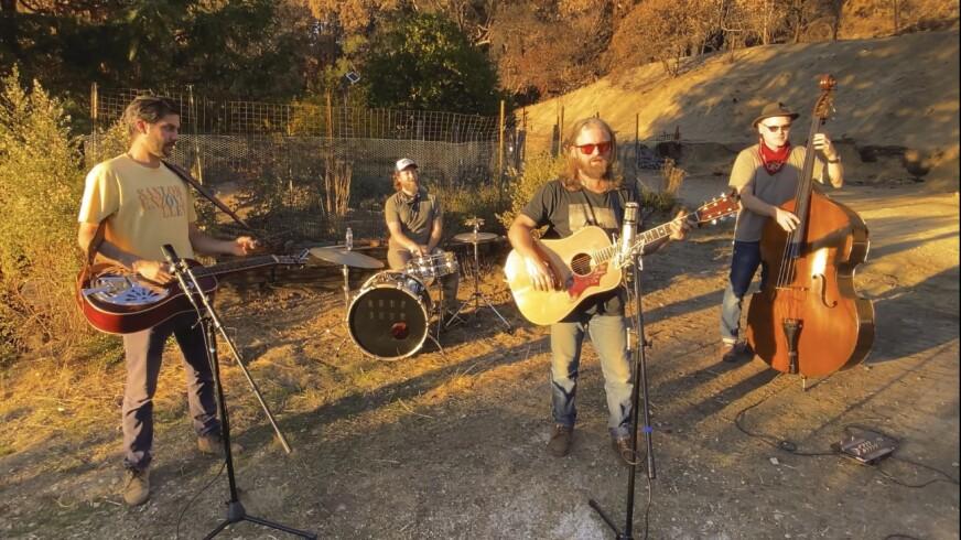 Santa Cruz Mountains blues/folk band Wolf Jett has released its self-titled debut album.