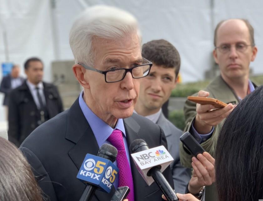 Former California Governor Gray Davis