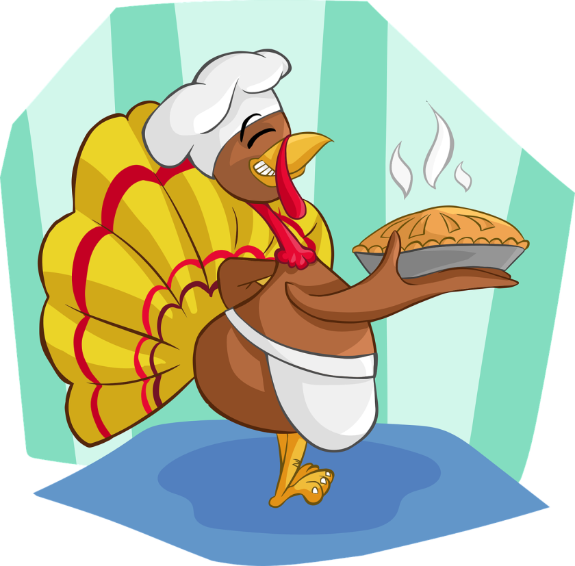 An illustration of a turkey