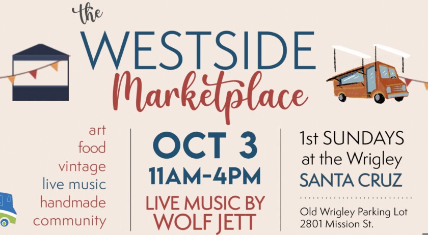 A flyer for the October 2021 Westside Marketplace