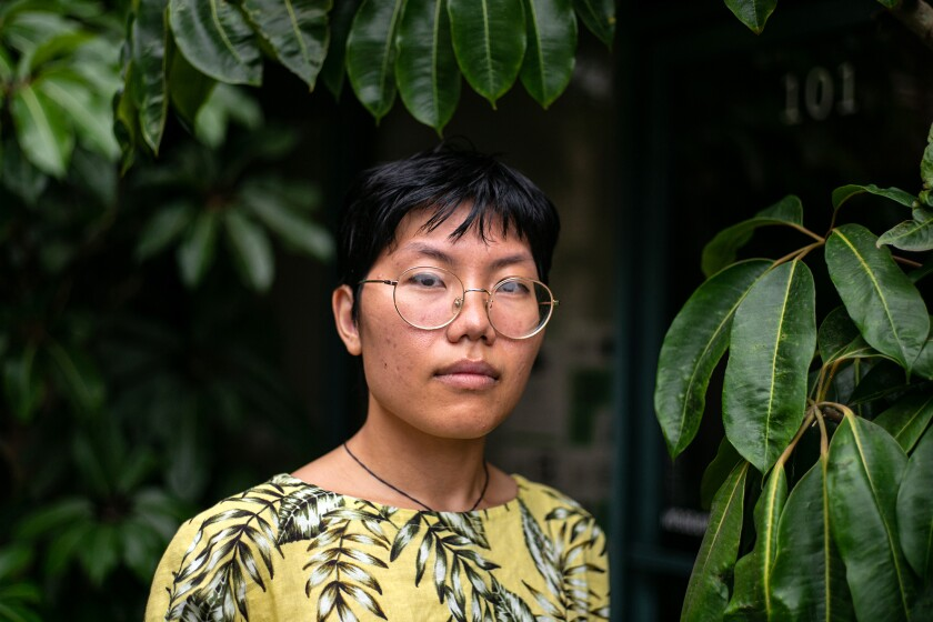 Phuong Vo, a program director for the California Healthy Nail Salon Collaborative