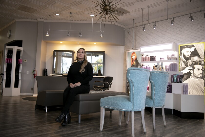 Denise Russell, owner of Special FX Salon & Day Spa in San Jose