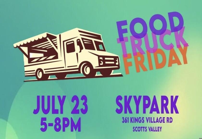 Food Truck Friday at Skypark