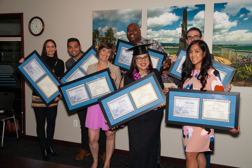 BayFedU Class 9's graduates.