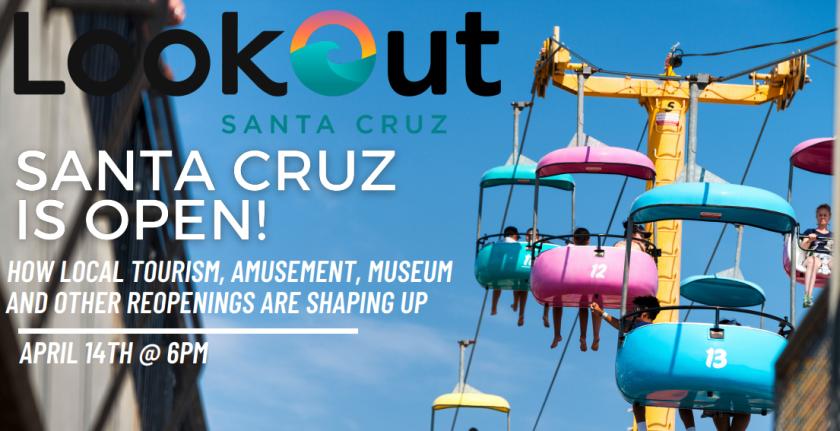 Santa Cruz Is Open event.