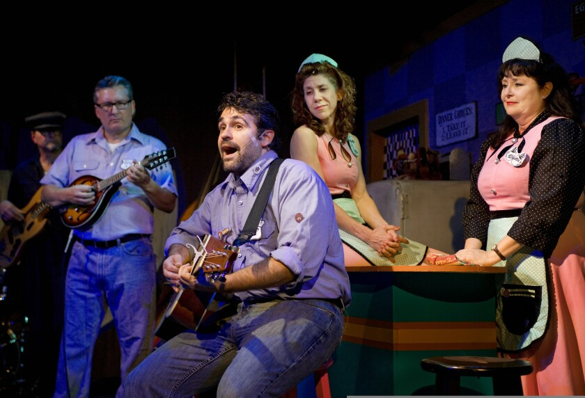 """Jewel Theatre's 2013 production of """"Pump Boys and Dinettes."""""""