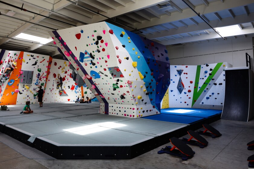 Agility Boulders opened last month on 38th Avenue in Capitola.
