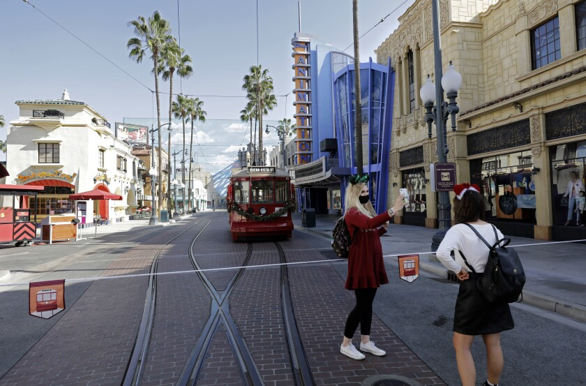 Sections of Hollywood Land opened as a part of the Buena Vista Street extension at Disney California Adventure