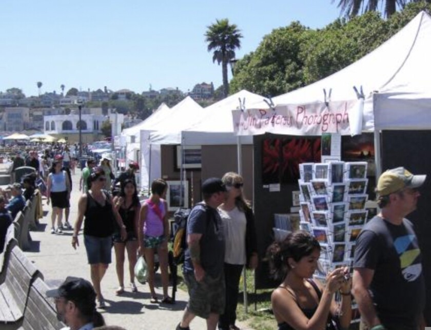 File photo of art show at Capitola Beach