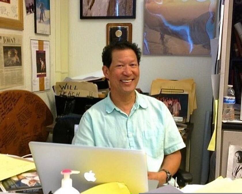 Spike Wong the English teacher.
