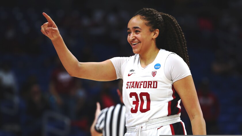 Haley Jones, who grew up in Santa Cruz, led Stanford to its first women's basketball title in 29 years.
