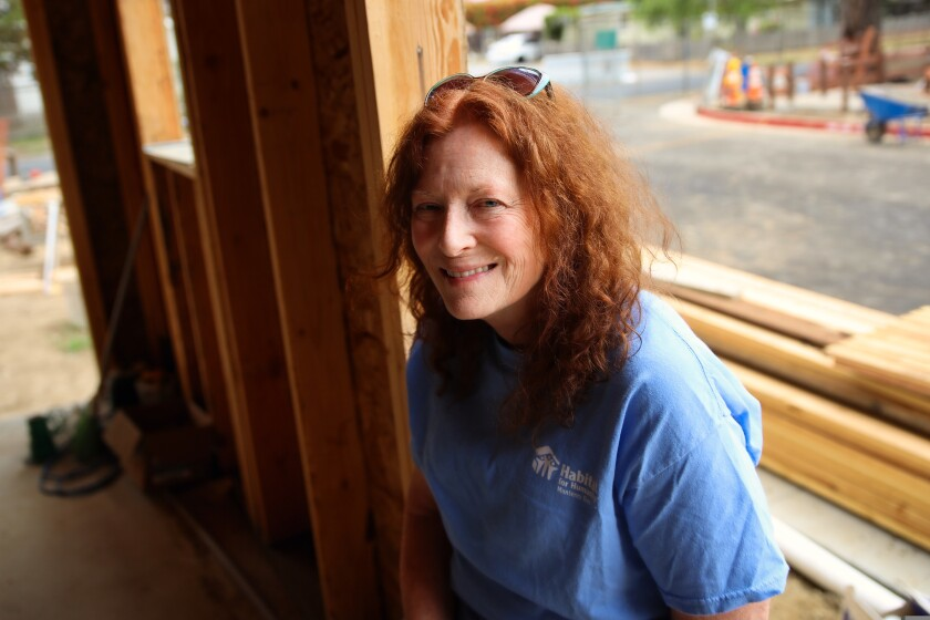 """""""Every day I feel so blessed when I wake up,"""" said Allie Wilson, a Habitat staffer who is also a homeowner."""