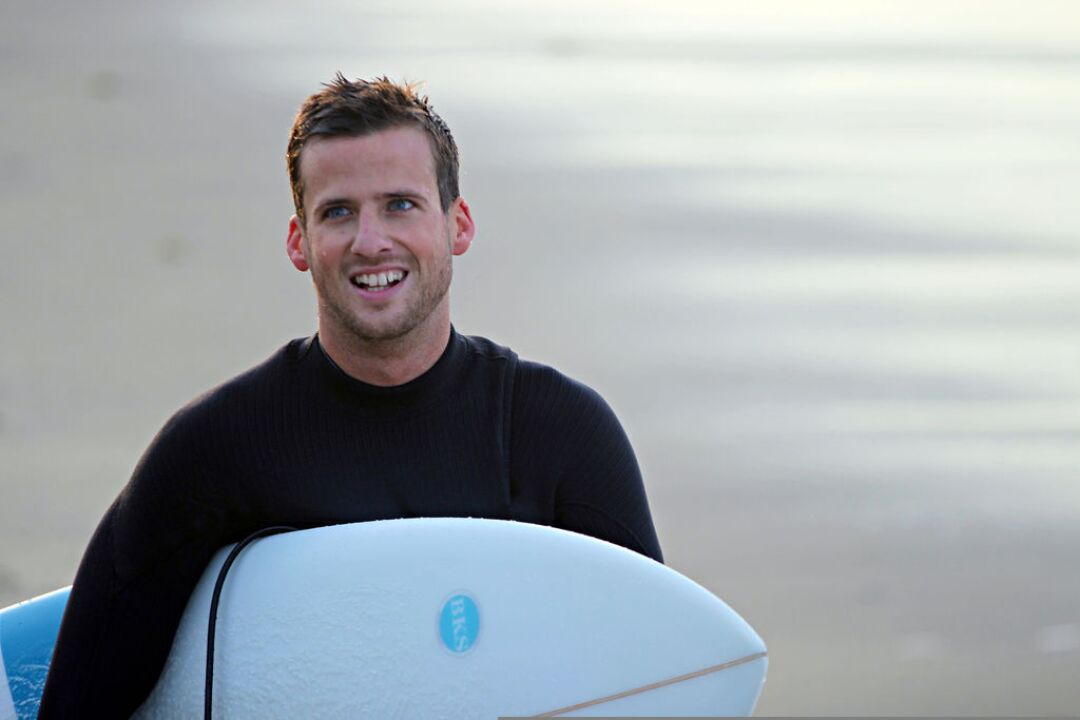 Ben Kelly was always on the hunt for waves off the beaten path, often with friends in tow.