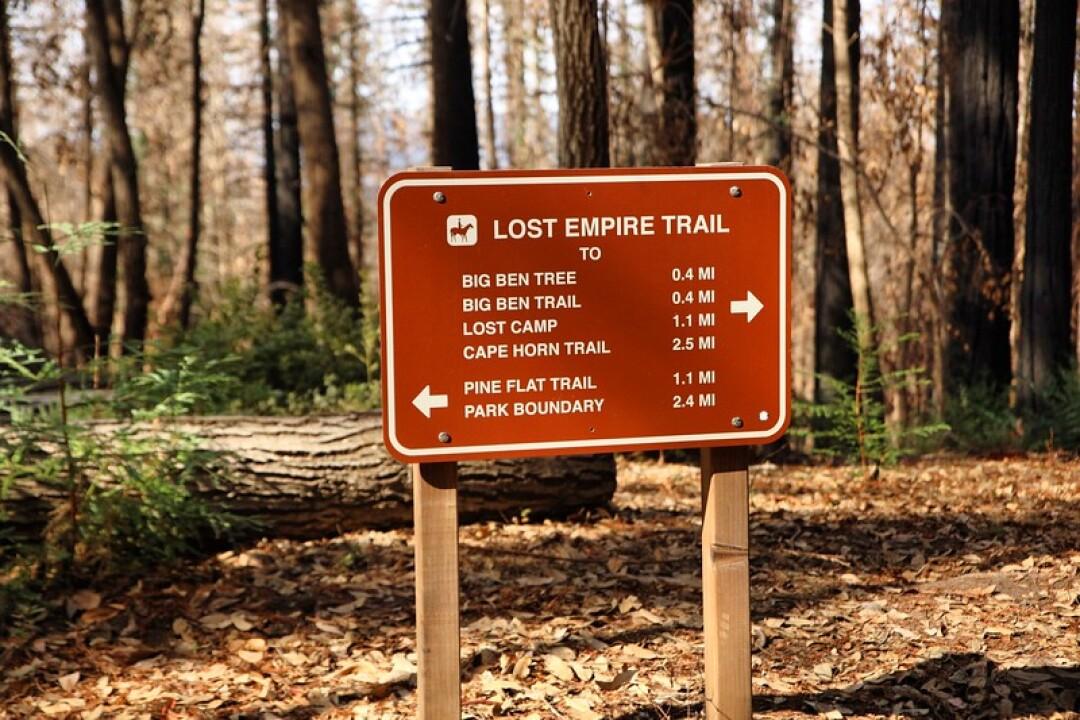 The Lost Empire Trail.