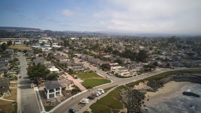 An aerial view of the Westside.