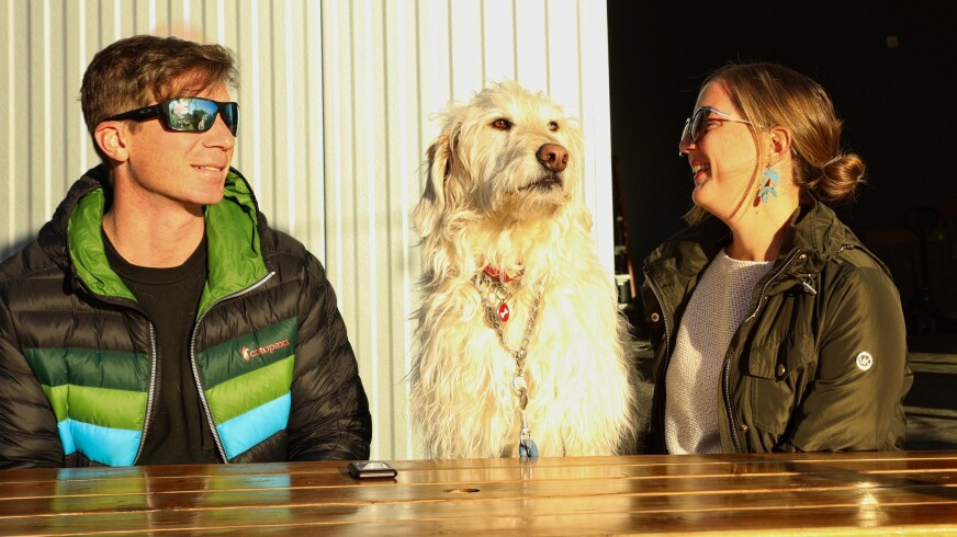 All kinds of beings were enjoying the sunny day at Venus Spirits on the far Westside on Friday afternoon.