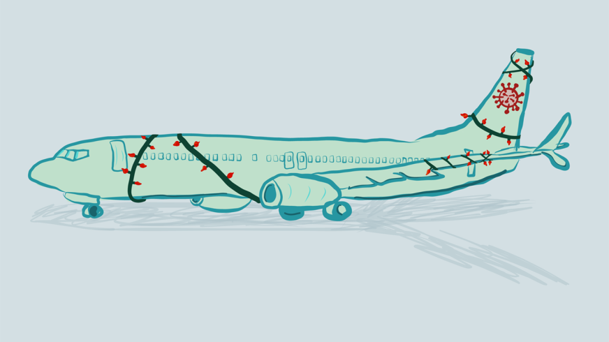 COVID-era flying