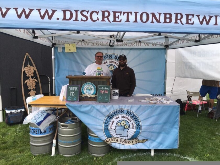 Discretion Brewing is set to return to the Scotts Valley Art, Wine and Beer Festival.