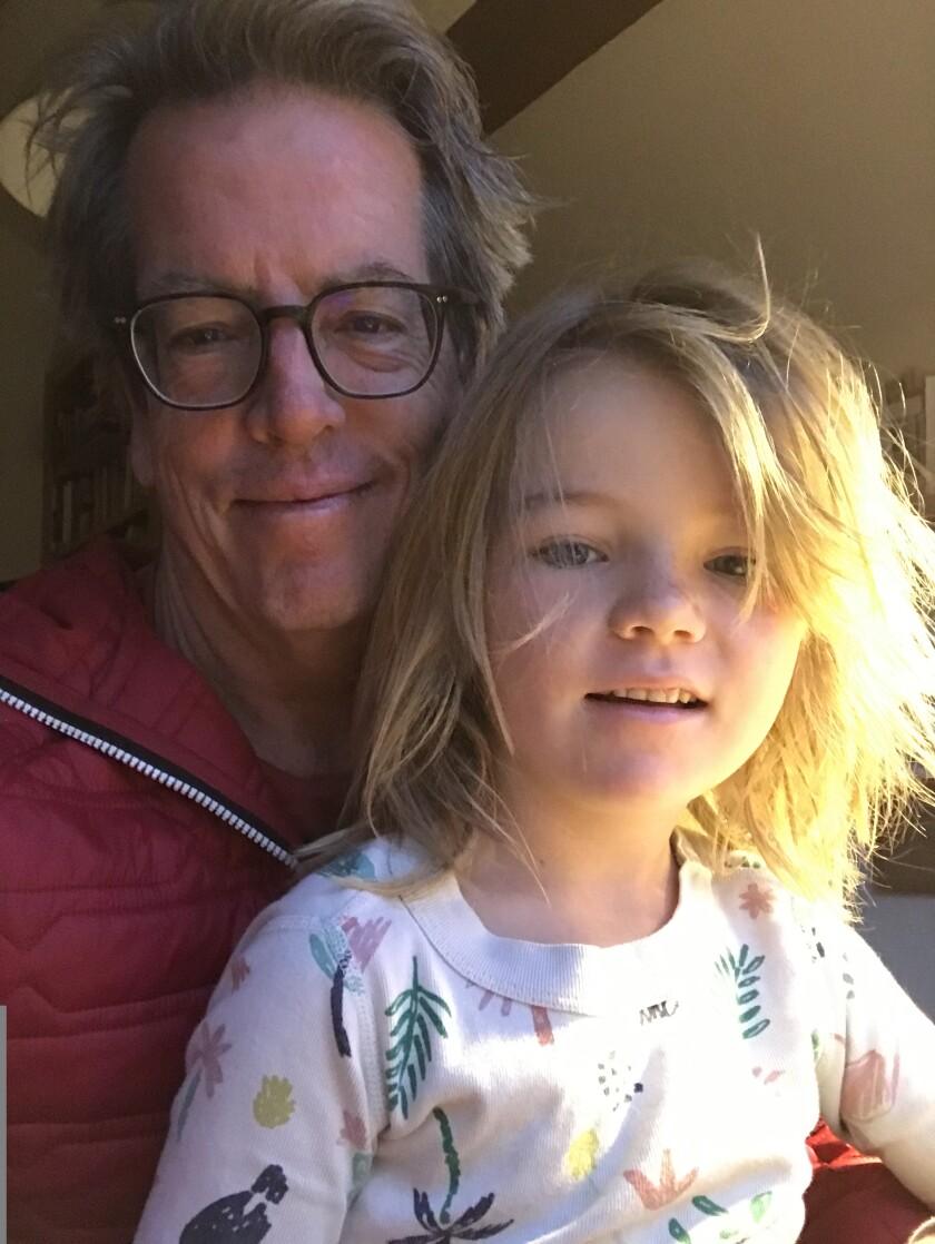 Steve Kettman and daughter Coco