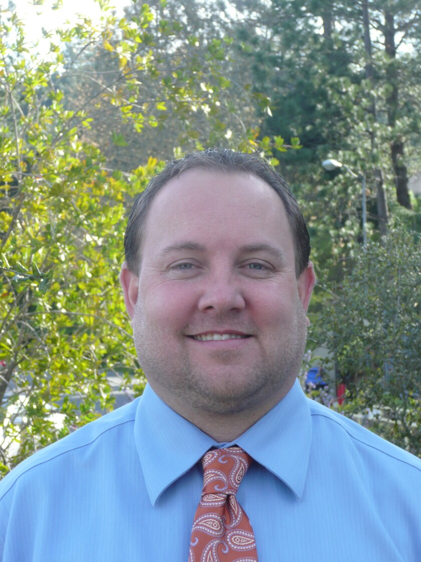 Chris Schiermeyer, incoming superintendent at San Lorenzo Valley Unified School District.