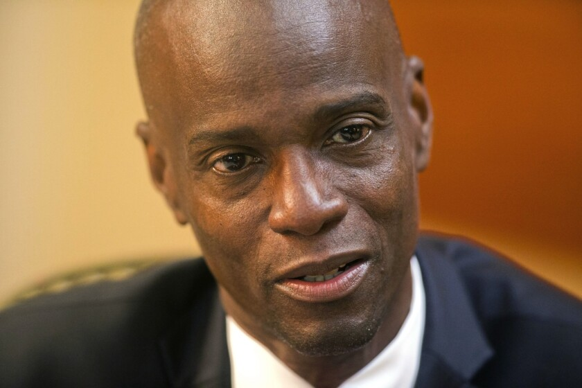 Haitian President Jovenel Moise was assassinated at his home.