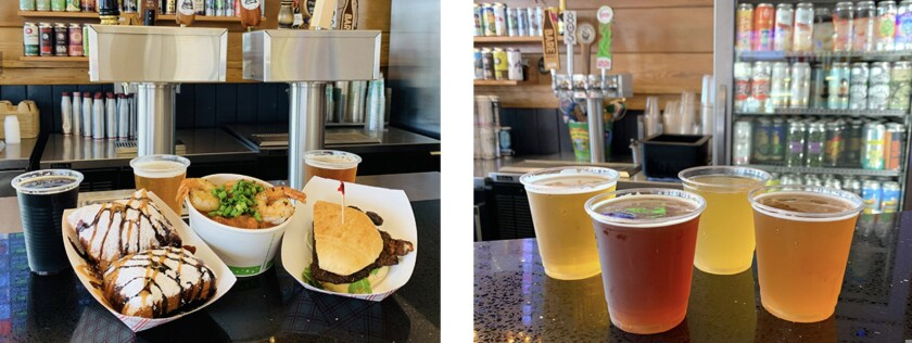 Promo photos for Boardwalk beer and food event