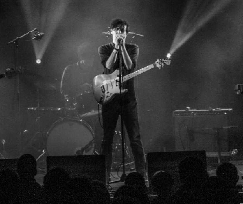 Singer-songwriter Cass McCombs performing live