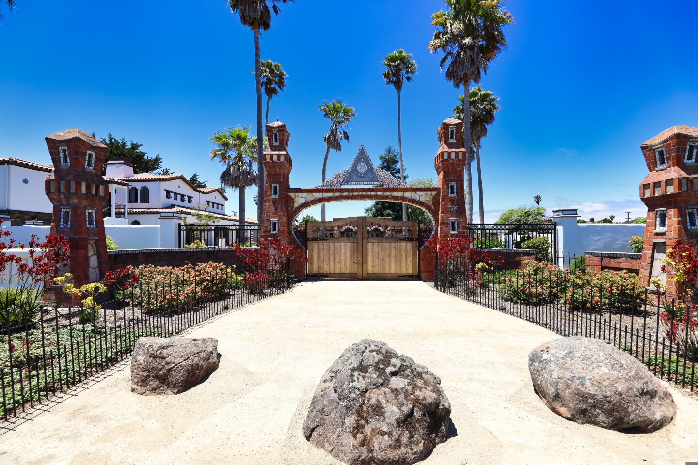 The Court of Mysteries on Fair Avenue in Santa Cruz.