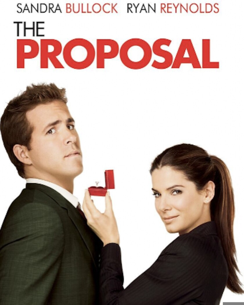 """""""The Proposal"""" movie poster"""