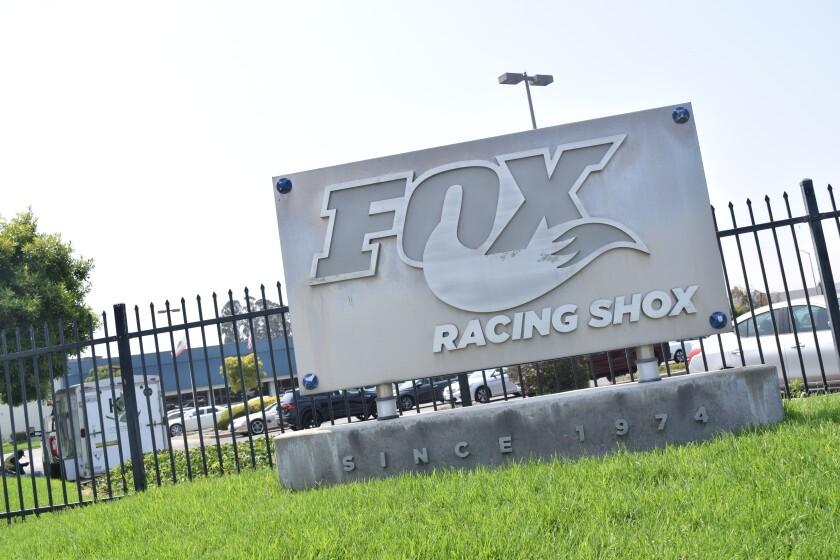 Fox Racing factory closes in Watsonville