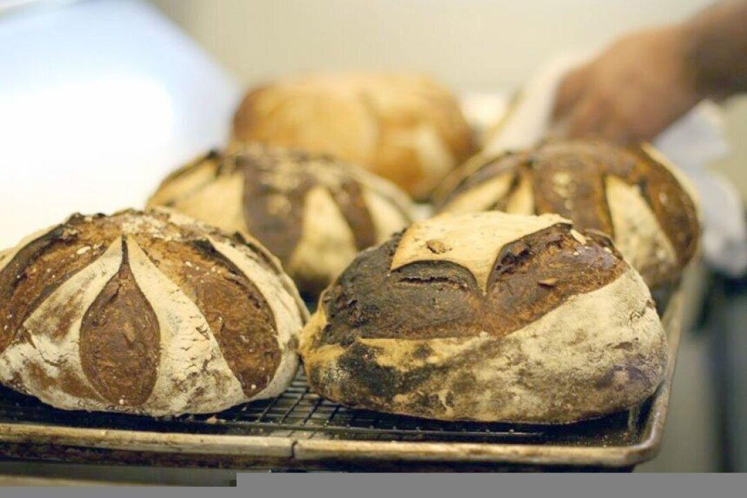 Bread from La Posta.