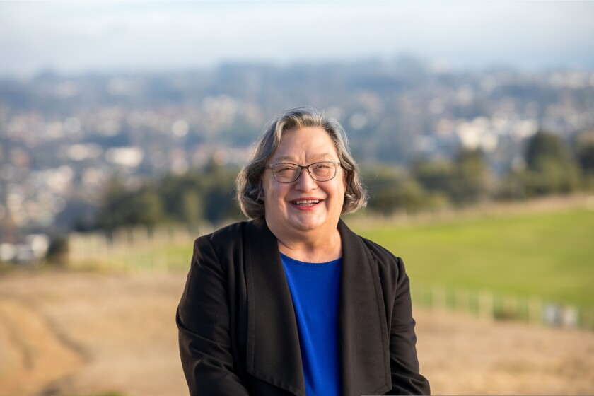 Cynthia Larive stepped in as UCSC chancellor on the verge of a historically challenging year.