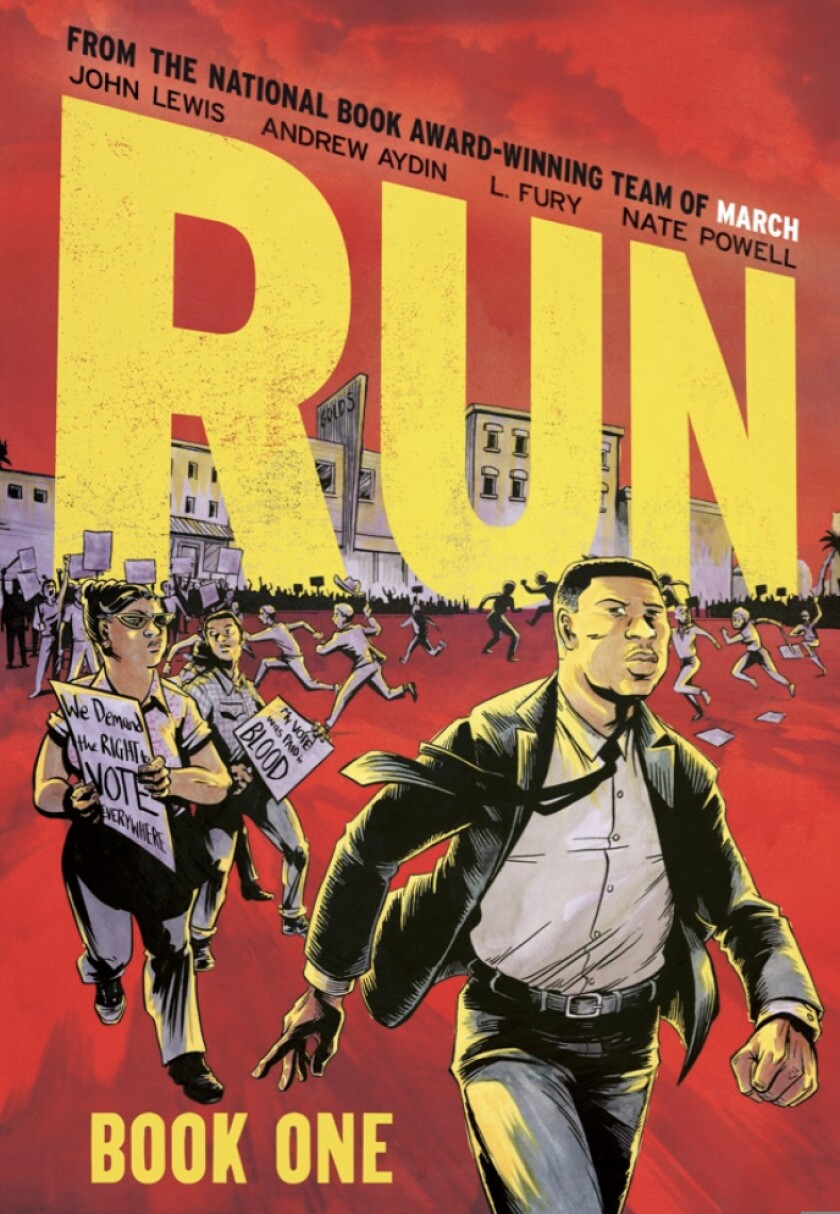 """The cover of """"Run: Book One"""""""