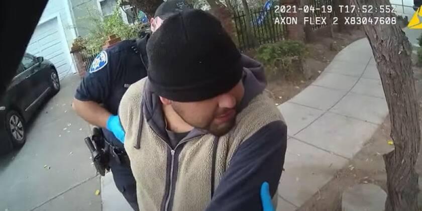 City of Alameda body cam footage.