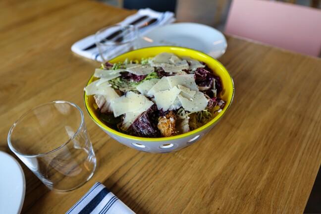 The Caesar Salad at Mentone in Aptos.