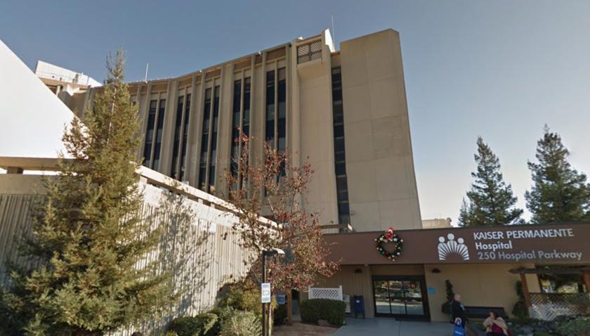 Kaiser Permanente San Jose Hospital.