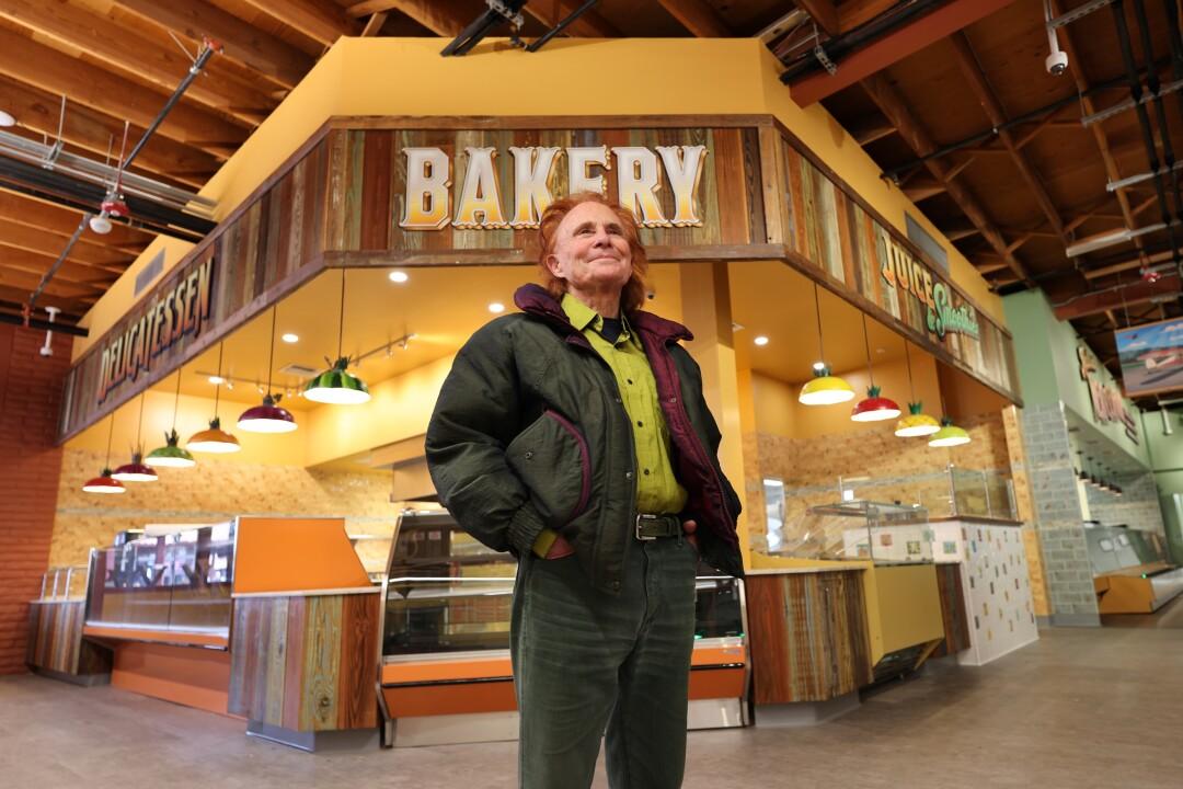 Gary Josephson, seeing big things for his new store.